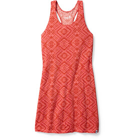 Smartwool Basic Merino 150 Pattern Dress Women Bright Coral
